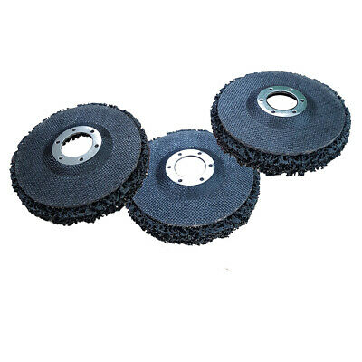 """3 x VOCHE® PAINT & RUST REMOVER GRINDER WHEEL DISC 115MM (4 1/2"""") ANGLE GRINDERS"""