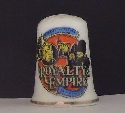 Royality  Empire  London   ( Bone  China ) Thimble