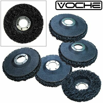 "5 x VOCHE® PAINT & RUST REMOVER GRINDER WHEEL DISC 115MM (4 1/2"") ANGLE GRINDERS"