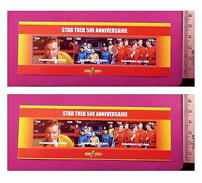 Star Trek 2016 The Original Series 50th Anniversary Stamps 3 value Sheetlet GIFT