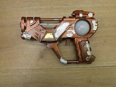 STEAMPUNK adapted toy space gun lit chamber & ball larp cosplay MAD SCIENCE LAB