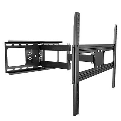 Pro Cantilever Inclinable Pivotant Panneau Plat LED Support Mural TV LCD