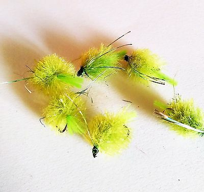 Lime Blob Trout Buzzers Trout Lures Fly Fishing Trout Flies