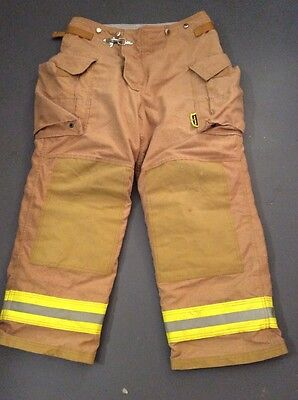 #2028 Securitex Size 38/30 Fire Fighting Bunker Pants Mfg 2003
