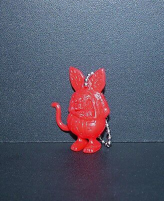 "Great Little Ed Roth ""rat Fink"" Figure Key Chain In Red!!!"