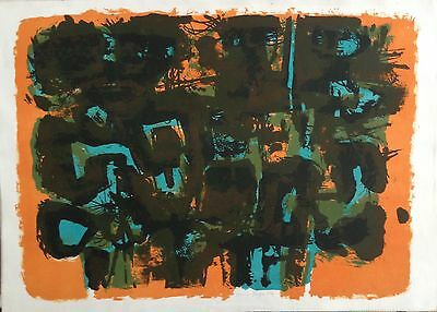 """HENRY CLIFFE 1919-1983 Limited edition Lithograph 1959 """"The Fates"""" 15/20"""