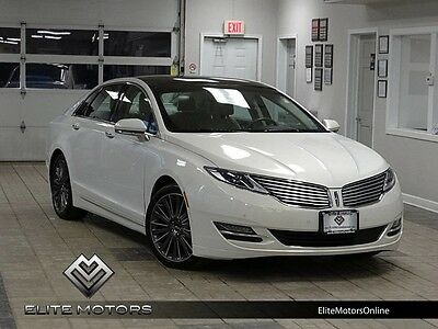 2013 Lincoln MKZ/Zephyr Base Sedan 4-Door 13 lincoln mkz awd auto pano roof navi gps heated cooled seats usb stream music