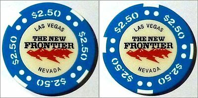 The New Frontier $2.50 Las Vegas casino chip