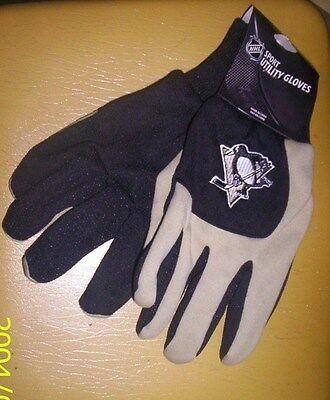 Pittsburgh Penguins  Sports Utility Gloves one size NHL