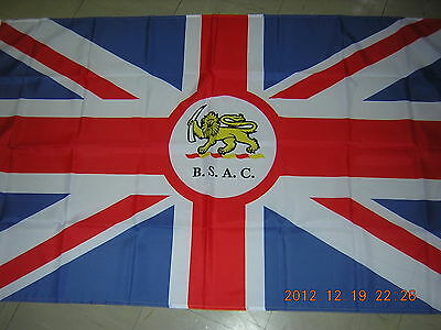 Pre 1964 British South Africa Company BSAC Flag Union of South Africa Ensign GB