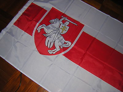 New Reproduced State flag of Belarus Belarusian Ensign with Coat of Arms 3X5feet