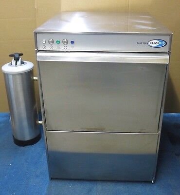 Class EQ Duo 750  Dishwasher 240V 1N 50Hz Single Phase Rinse + Water Filter