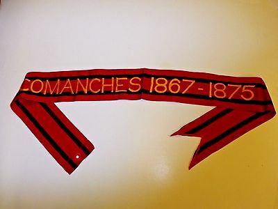 rst097 Indian Wars US Army Flag Streamer Comanches 1867-1875