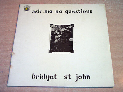 Bridget St John/Ask Me No Questions/1969 Dandelion Gatefold Stereo LP