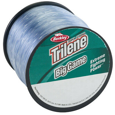 Berkley trilene big game inshore monofilament fishing line for Fishing line test