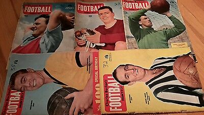 5 - Charles Buchan's Football Monthly's From 1959