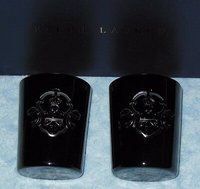 Ralph Lauren AYERS DOF Bar Glasses Skull & Crossbones Hungary NIB Free US Ship