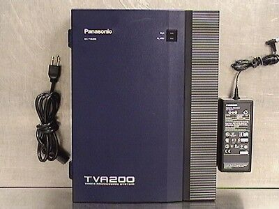 Panasonic KX-TVA200 Voice Processing System with AC Adapter (204439)