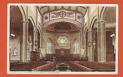 1926 Postcard, St. Andrews Church, Wiveliscombe