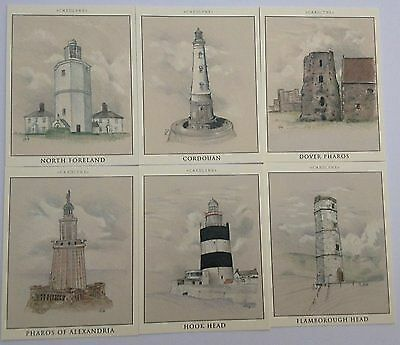 British Lighthouses Complete Cards Set Card Lynx