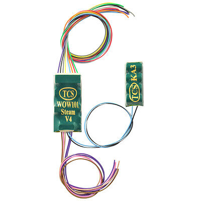 TCS WOW Steam Sound Decoder #1517 9 Pin JST Connector  Ver. #4 Bob The Train Guy