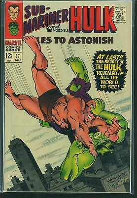 Tales To Astonish #87 F-