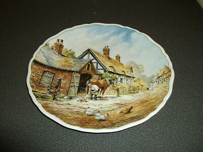 Royal Doulton Plate / Village Life / Pride And Patience