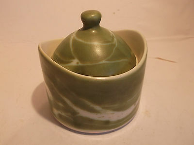 Aviemore Pottery Preserve Pot - Stunnnigly Lovely!free Uk Postage