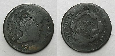 1810 Classic Head Large Cent, AG