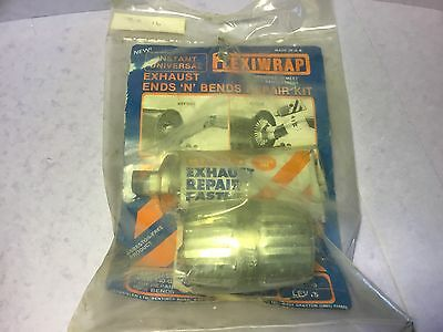 Exhaust repair flexiwrap kit,display only(paste gone off)classic car UKPost £3