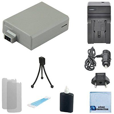 LP-E5 Camera Battery + AC/DC Charger for Canon EOS Rebel XSi XS EOS 450D