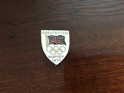 1972 Munich Olympics Great Britain Badge