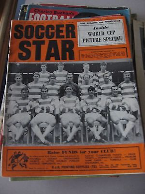 12.8.1966 Soccer Star Inside World cup Picture Special - Cover QPR