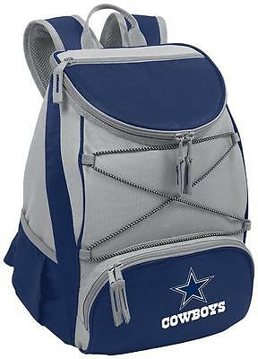 NEW NFL Dallas Cowboys PTX Insulated Backpack Cooler Navy