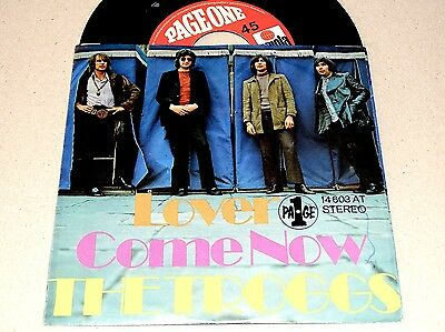 """7"""" Single 45 - THE TROGGS - LOVER / COME NOW  169"""