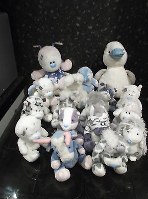 A Bundle Of Blue Nose  Friends 2X Large 15 Small  Good Condition