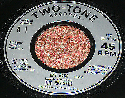 THE SPECIALS  RAT RACE  Single  1980  FRENCH