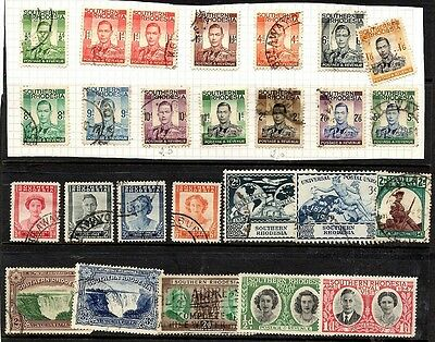 Southern Rhodesia - collection including King George VI set