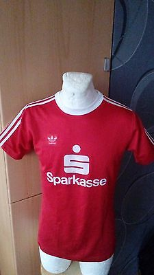 Adidas West Germany Sparkasse Match ? Shirt Maglia Jersey Vintage Football