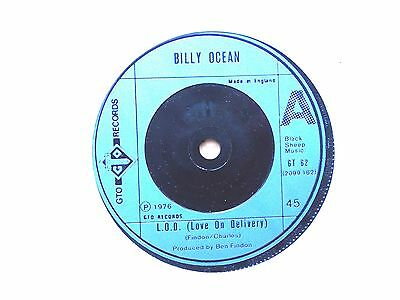 """Billy Ocean L.o.d. ( Love On Delivery ) 7"""" Single 1976 Excellent"""