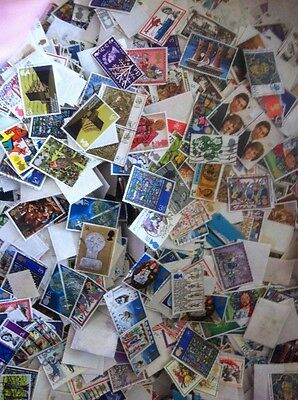 GB Off Paper Commemoratives Over 1000.