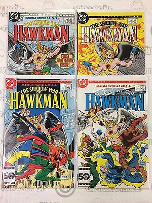 The Shadow War of Hawkman #1-4 Comic Book Set DC 1985