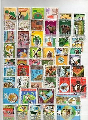 Beau Lot Collection Benin Obliteres 440 Timbres Differents Obliteres 11 Scans