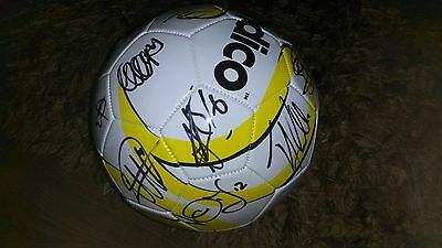 """Superb Derby County Football Signed By 24 - """"proof"""""""