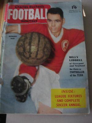 Charles Buchan's Football Monthly August 1959