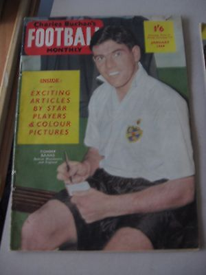 Charles Buchan's Football Monthly January 1959