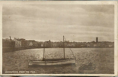 Donaghadee from the Pier - 1916 RP - Rowing Boat