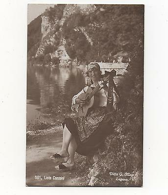 Liete Canzoni,Italy RPPC Produced by Ditta G.Mayr of Lugano