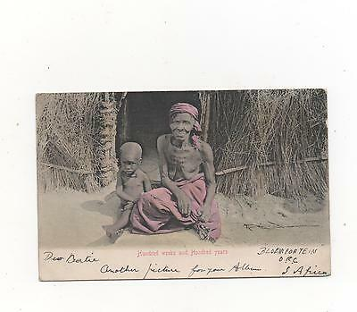 Bloemfontein  South Africa - 100 weeks and 100 years PPC 1904