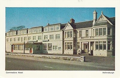Postcard commodore Hotel Helensburgh Scotland
